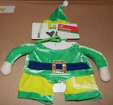Christmas Dog Costume 3D Elf Small To Extra Small 12 To 19 Lbs 150X