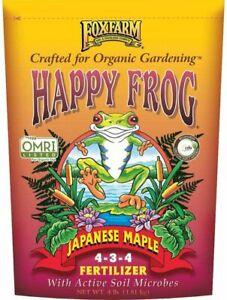 Foxfarm OMRI Happy Frog Japanese Maple Fertilizer 4-3-4 4lb