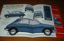 ★★ 1971 Morris 1100/1300 Original Imp Broschüre Brille Info 71 1962-1973 62