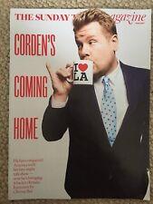 THE SUNDAY TIMES MAGAZINE JAMES CORDEN COVER NEW RUTH DAVIDSON MARIINSKY