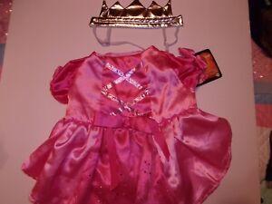 Pink Princess costume dog new pet Petco halloween XXS M queen crown cat xxsmall