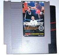 Mike Tyson's Punch-Out (Nintendo NES 1987) Authentic/Tested. Punchout. w/ Sleeve
