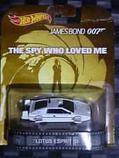 2014 HOTWHEELS - Retro entertainment E - BOND 007 Lotus Esprit Submarine