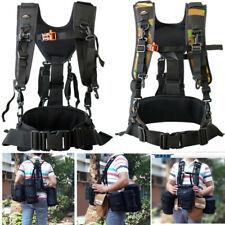 Adjustable DSLR Camera Double Shoulder Strap Waist Belt Lens Bag Pouch Holder