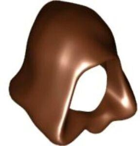 Lego New Reddish Brown Minifigure Headgear Hood