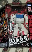 1Transformers SIEGE War for Cybertron RATCHET WFC-S34 Walgreens Exclusive