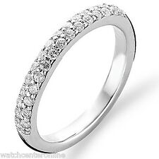 Ti Sento Milano Sterling Silver CZ Pave Ring Size 7 1414ZI/54