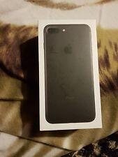 iPhone 7 Plus Matte Black 128GB Boxed Great condition Unlocked Sim Free