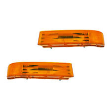 Fits Ford Bronco F-150 Driver + Passenger Parking Turn Signal Light Lamp 1 Pair