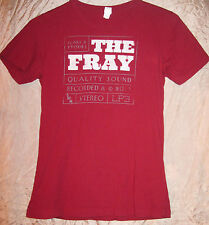 THE FRAY AUTHENTIC 2012 SCARS & STORIES CONCERT TOUR SHIRT SMALL EX COND+