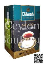Dilmah Earl Grey Ceylon Black Tea - 50 Pure Ceylon Tea Bags