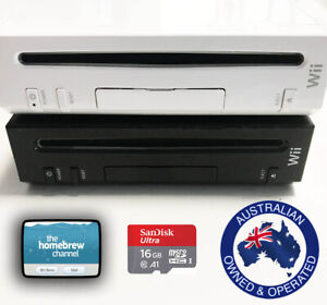 Nintendo Wii with 16GB SD and Homebrew Channel