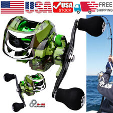 Us Spinning Fishing Reels Baitcasting Reels Saltwater Freshwater Left/Right Hand