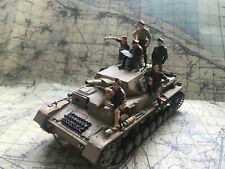 1/35 Tamiya Panzer IV con tripulación. Construido y pintado