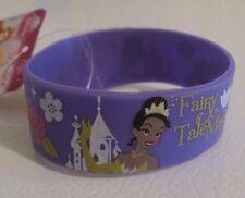 Disney Licensed Tiana Fairy Tale Magic Rubber Bracelet Wristband Supper Cute New