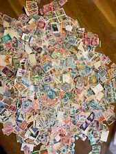More details for  liban stamps vintage modern 2500+ off paper ex dealer stock lot3
