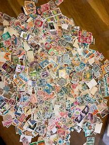 Lebanon Liban Stamps vintage modern 2500+ off paper ex dealer stock lot3