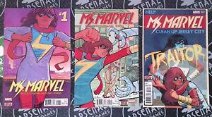 Ms. Marvel #1 2 3 2015 Comics Khan Avengers Spider-Man Thor Iron Man MCU Disney+