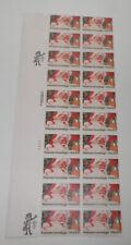 US Stamps Scott  #2064 - SEASON'S GREETINGS - pane of 20 - 20c - Mint NH