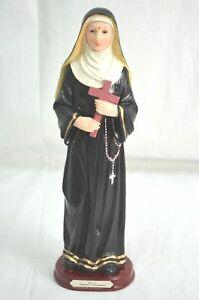 """ST RITA 12"""" / 30CM High Resin Statue Religious Figurine"""