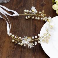 Girl Flower Headband Floral Crown Hair band Garland Wedding Party Beach Bride