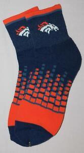 NFL Socks Denver Broncos Digital Squares Ankle Socks LRG