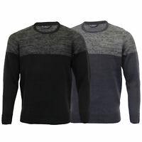 Mens Knitted Jumper Kensington Eastside Sweater Pullover Top Acrylic Winter New