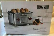 Wolf Gourmet 4-Slice Toaster WGTR104S