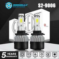 RONWALLS 9006 HB4 LED Headlight Light Bulbs Replace Lamp White 72W 9000LM Xenon