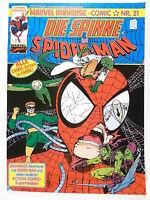 MARVEL UNIVERSE-Comic # 21 Spider-Man  ( Condor Verlag 1989-1993 )