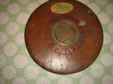 vintage antique leather metal tape measure karl bayard bad godesberg