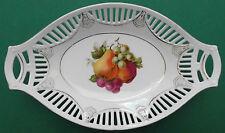 Schumann, Arzberg, Jugendstil, porcelana, por rotura decoración, frutas decoración, canastilla, Top