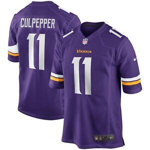 Minnesota Vikings Daunte Culpepper #11 Nike Men's NFL Game Retired Player Jersey