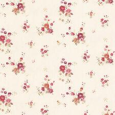PP27808 - Pretty Prints 4 Blumenmuster PFIRSICH ROSA LILA Galerie Tapete
