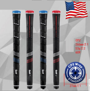 13 PCS For Golf Pride CP2 Wrap Standard / Midsize Blue / Red Golf Grip Anti Slip