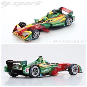 1/18 Spark Audi Formule 1 ABT Schaeffler Sport N°11 Champion Livraison Domicile