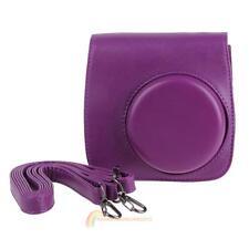 PU Leather Camera Shoulder Case Cover Bag Pouch+Strap For Fujifilm Instax Mini 8