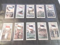 1929 Wills FLAGS OF THE EMPIRE 2nd ser Military set 25 cards Tobacco Cigarette