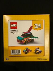 LEGO 6387807  Rebuild the World Rebuildable Flying Car 3 In 1 Christmas