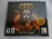 Star Wars Knights of the Old Republic II: The Sith Lords 4 Disc PC Game PREOWNED