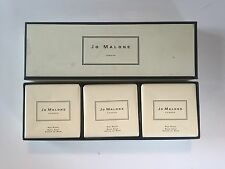 RARE Jo Malone Red Roses Soap Gift Set (3 x 100g Bars)