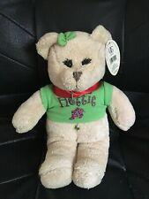 "12"" Alpha Chi Omega AXO-- HOTTIE Stuffed Teddy Bear with TAG by Fiesta.  NEW"