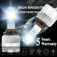 9005 HB3 H10 1500W 225000LM LED Headlight Fog Light Kit High Beams 6000K White