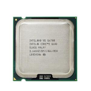 Intel Core 2 Quad Q6700 Kentsfield Processor 2.66GHz 1066MHz LGA 775 CPU ONLY