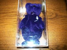 Authentic 1997 TY Beanie Babies Princess Bear Tribute NWT in Protective Case