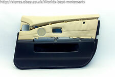 BMW E65 E66 730d FL (2P) 7 SERIES Front Right Door Card Beige Cream Leather