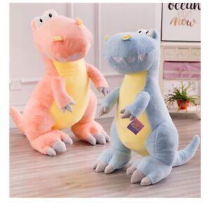 Cute T-Rex Baby Dinosaur Soft Toy Cuddly Stuffed Animal Dinosaur Toys Pink Blue