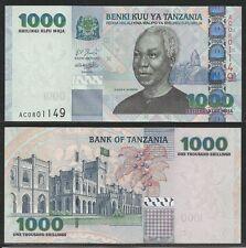 TANZANIA - 1000 Shillings 2003 UNC Pick 36a