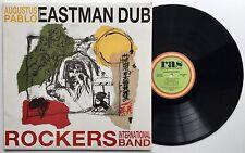 AUGUSTUS PABLO ROCKERS INT'L BAND Eastman Dub NM Ras LP - Tetrack Vocals - 1989