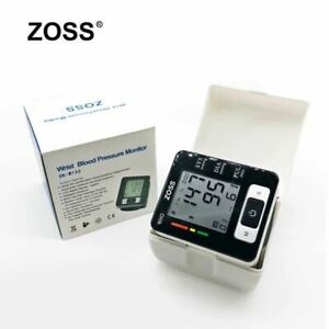 English or Russian Voice Blood Presure Meter Monitor Heart Rate Pulse Portable T